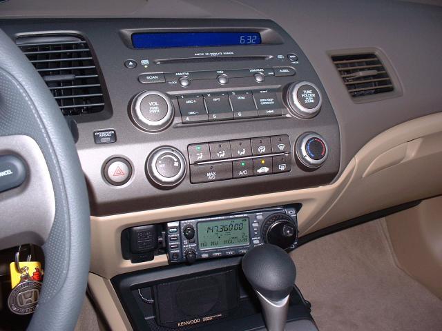 Amateur Radio Install In Civic Ex 8th Generation Honda Forumrh8thcivic: 2006 Honda Civic Coupe Radio At Gmaili.net