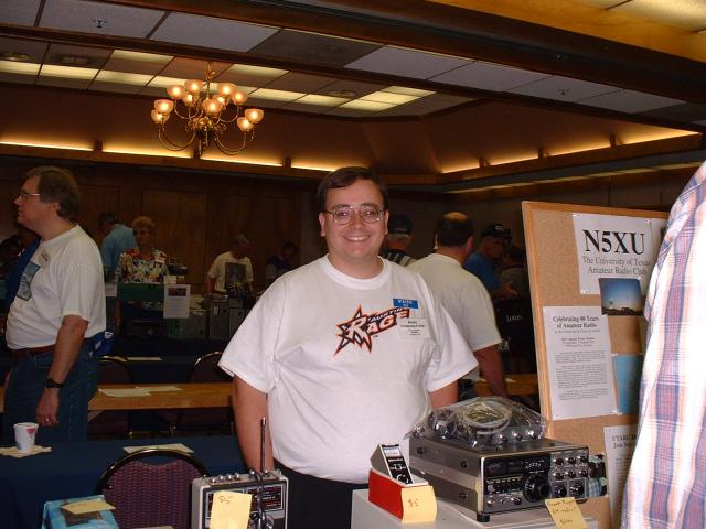 The University of Texas Amateur Radio Club had a table in the swapfest area ...