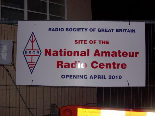 The Radio Society of Great Britain, the national amateur radio society, ...